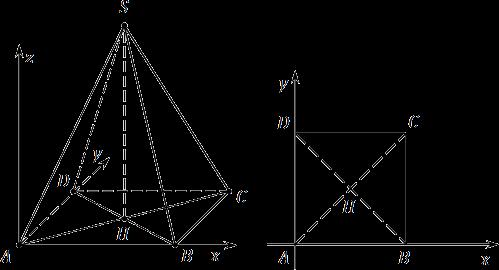 Правильная пирамида — урок Геометрия, 1 класс
